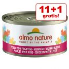 11 + 1 gratis! Almo Nature 12 x 70 g