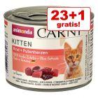 23 + 1 gratis! Animonda Carny Kitten, 24 x 200 g