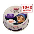 10 + 2 gratis! Animonda Carny Ocean, 12 x 80 g