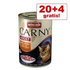 20 + 4 gratis! Animonda Carny 24 x 400 g