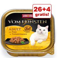 26 + 4 gratis! Animonda vom Feinsten Adult NoGrain w sosie, 30 x 100 g