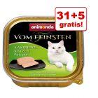 31 + 5 gratis! Animonda vom Feinsten pisici sterilizate, 36 x 100 g