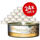20 + 4 gratis! Applaws u juhi 24 x 156 g