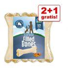 2 + 1 gratis! Barkoo gefüllte Kauknochen, 18 x 12 cm
