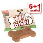 "5+1 gratis! Briantos ""DogBiski"" Snack - Huhn, Rind & Tomate"