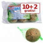 10 + 2 gratis! 12 buc a 90 g Lillebro Bulgări de grăsime păsări sălbatice