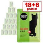 18 + 6 gratis Cosma Natvoer 24 x 100 g