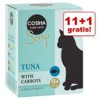 11+1 gratis! Cosma Soup, 12 x 40 g