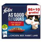 86 + 10 gratis! Felix Fantastic (So gut wie es aussieht), 96 x 85 g