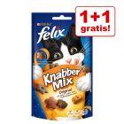 1 + 1 gratis! Felix KnabberMix 2 x 60 g