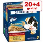 20 + 4 gratis! Felix Sensations