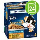20 + 4 gratis! Felix Sensations in Gelei 24 x 85 g