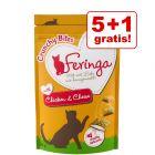 5 + 1 gratis! Feringa Crunchy Bites 6 x 30 g