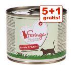 5 + 1 gratis! Feringa Menü Duo-Sorten 6 x 200 g
