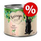 5 + 1 gratis! Feringa Organic Kitten 6 x 200 g