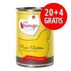 20 + 4 gratis! Feringa Pure Meat Menü 24 x 410 g
