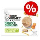 24 + 12 gratis! Gourmet Nature's Creations, 36 x 85g