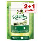 2 + 1 gratis! Greenies grickalice za njegu zubi