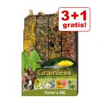 3 + 1 gratis! JR Farm Farmy's Graanvrij XXL