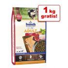 1+1 gratis! 2 kg bosch hrană uscată pentru câini