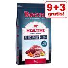 9 + 3 gratis! 12 kg Rocco Mealtime tørfoder