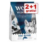 2 + 1 gratis! 3 kg Wolf of Wilderness droogvoer