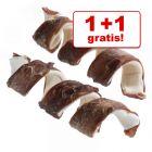 1 + 1 gratis! Lukullus fin tyggespiral 4 x 10 cm (150 g)