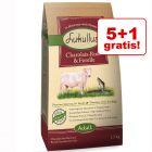 5 + 1 gratis! Lukullus, sucha karma dla psa, 6 x 1,5 kg