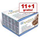 11 + 1 gratis! Mešano pakiranje Applaws Adult 12 x 70 g