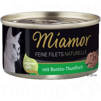 10 + 2 gratis! Miamor Feine Filets Naturelle, 12 x 80 g