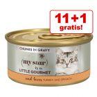11 + 1 gratis! My Star Gourmet Bucățele în sos Conserve 12 x 85 g