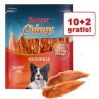 10 + 2 gratis! Pakiet Rocco Chings Originals, przysmaki dla psa