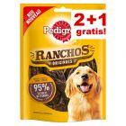 2 + 1 gratis! Pedigree snacks