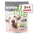 """3 + 1 gratis! Przysmak Briantos """"FitBites"""", 4 x 150 g"""