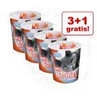 3 + 1 gratis! Przysmak Smilla Hearties/Toothies, 4 x 125 g