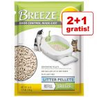 2 + 1 gratis! Purina Tidy Cats Breeze, podkłady lub żwirek
