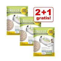 2 + 1 gratis! 3 Ricariche per Purina Tidy Cats Breeze