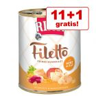 11 + 1 gratis! RINTI Filetto 12 x 800 g