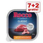 7 + 2 gratis! Rocco Classic pladnji 9 x 300 g