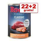 22 + 2 gratis! Rocco Classic 24 x 400 g
