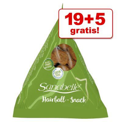 19 + 5 gratis! Sanabelle Snack 24 x 20 g tanio w zooplus
