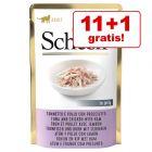 11 + 1 gratis! Schesir în gelatină Pliculețe 12 x 85 g (NOU!)