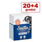 20 + 4 gratis! Smilla Häppchen 24 x 370 / 380 g