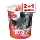 2 + 1 gratis! Smilla Katzenpasten und Knuspersnacks