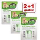 2 + 1 gratis! Spot'n Go Zecken- und Flohschutzmittel für Hunde