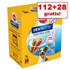 112 + 28 gratis! 140 Stück Pedigree Dentastix