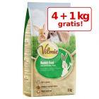 4 + 1 gratis! Vilmie Hrană pentru iepuri pitici