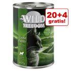 20 + 4 gratis! Wild Freedom Adult, 24 x 400 g