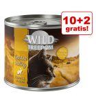 10 + 2 gratis! Wild Freedom, 12 x 200 / 400 g