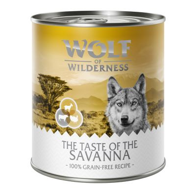 5 + 1 gratis! Wolf of Wilderness Nassfutter